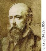Murray Charles Fairfax - Philip Webb - British School - 19th Century. Редакционное фото, фотограф Artepics / age Fotostock / Фотобанк Лори