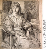 Murray Charles Fairfax - Lisa Stillman - British School - 19th Century... Редакционное фото, фотограф Artepics / age Fotostock / Фотобанк Лори