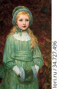 Perugini Kate - Dorothy De Michele - British School - 19th Century. Редакционное фото, фотограф Artepics / age Fotostock / Фотобанк Лори