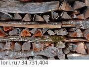 Brennholz, Holzbeige, Holzstapel, wood pile, pile, Стоковое фото, фотограф Zoonar.com/Jürgen Vogt / easy Fotostock / Фотобанк Лори