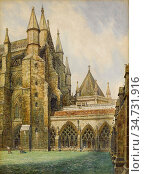 Rooke Thomas Matthews - Westminster Abbey Transept East Corner - ... Редакционное фото, фотограф Artepics / age Fotostock / Фотобанк Лори