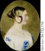 Ross Sir William - Queen Victoria 3 - British School - 19th Century. Редакционное фото, фотограф Artepics / age Fotostock / Фотобанк Лори