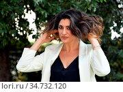 Elisa Isoardi during the photocall of tv show 'Ballando con le stelle... Редакционное фото, фотограф Maria Laura Antonelli / AGF/Maria Laura Antonelli / age Fotostock / Фотобанк Лори
