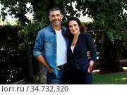 Simone Di Pasquale, Lina Sastri during the photocall of tv show '... Редакционное фото, фотограф Maria Laura Antonelli / AGF/Maria Laura Antonelli / age Fotostock / Фотобанк Лори