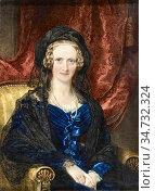 Ross Sir William - Queen Adelaide - British School - 19th Century. Редакционное фото, фотограф Artepics / age Fotostock / Фотобанк Лори
