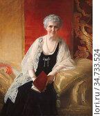 Salisbury Frank Owen - Louise Carnegie - British School - 19th Century... Редакционное фото, фотограф Artepics / age Fotostock / Фотобанк Лори