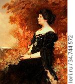 Williams Christopher - Alice Sophia Amelia Stopford Green - British... Редакционное фото, фотограф Artepics / age Fotostock / Фотобанк Лори