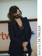 Gina Gershon attended 'Rifkin's Festival' Photocall during 68th San... Редакционное фото, фотограф Manuel Cedron / age Fotostock / Фотобанк Лори