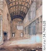 Wild Charles - Crosby Hall London 1 - British School - 19th Century. Редакционное фото, фотограф Artepics / age Fotostock / Фотобанк Лори