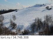 Большой (Восточный) Крылатский холм. Район Крылатское. Город Москва (2010 год). Стоковое фото, фотограф lana1501 / Фотобанк Лори