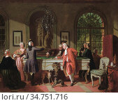 Carolus Jean - a Tricky Shot - Belgian School - 19th Century. (2020 год). Редакционное фото, фотограф Artepics / age Fotostock / Фотобанк Лори