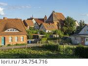 Stadtansicht Hansestadt Werben an der Elbe, Sachsen-Anhalt, Deutschland... Стоковое фото, фотограф Peter Schickert / age Fotostock / Фотобанк Лори