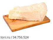 Local italian Parmigiano Reggiano (Parmesan) hard cheese on olive... Стоковое фото, фотограф Zoonar.com/Valery Voennyy / easy Fotostock / Фотобанк Лори