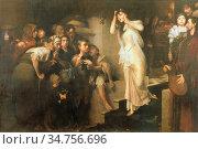 Gyárfás Jenõ - the Ordeal of the Bier - Hungarian School - 19th Century... Стоковое фото, фотограф Artepics / age Fotostock / Фотобанк Лори