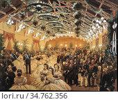 Zichy Mihaly Von - Ball in Honour of Alexander II Helsingfors in ... Редакционное фото, фотограф Artepics / age Fotostock / Фотобанк Лори