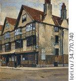 Adams William Dacres - King Street Bristol - British School - 19th... Стоковое фото, фотограф Artepics / age Fotostock / Фотобанк Лори