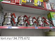 Turkish Teapots for Sale in Istanbul Turkey. Редакционное фото, фотограф Free Wind / Фотобанк Лори