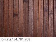 Brown wooden background, natural wood plank board. Стоковое фото, фотограф Яков Филимонов / Фотобанк Лори