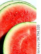 Frische Wassermelone. Стоковое фото, фотограф Zoonar.com/U. Jacobs / easy Fotostock / Фотобанк Лори