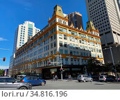 Sydney, NSW / Australia - August 23 2020: The Downing Centre features... Стоковое фото, фотограф Rosa Makin / easy Fotostock / Фотобанк Лори