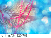 Abstract Christmas image suitable for the holiday background. Стоковое фото, фотограф Zoonar.com/Galyna Andrushko / easy Fotostock / Фотобанк Лори