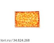 Rote Linsen in Karton auf weißem Hintergrund - Red lentils in carton... Стоковое фото, фотограф Zoonar.com/lantapix / easy Fotostock / Фотобанк Лори