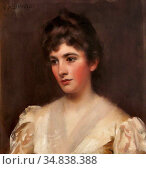 Shannon Sir James Jebusa - Ada Marion Nichols Lady Bond - British... Редакционное фото, фотограф Artepics / age Fotostock / Фотобанк Лори