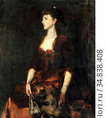 Shannon Sir James Jebusa - Isabella Milbanke - British School - 19th... Редакционное фото, фотограф Artepics / age Fotostock / Фотобанк Лори