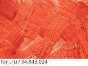 Random red brush strokes - background. Стоковая иллюстрация, иллюстратор Роман Сигаев / Фотобанк Лори
