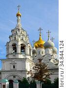 Church of St. Nicholas of Pyzhi (17th century). Moscow, Russia. Стоковое фото, фотограф Валерия Попова / Фотобанк Лори