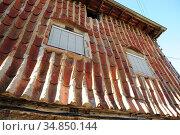Hervas, Juderia (Jewish quarter). Caceres, Extremadura, Spain. Стоковое фото, фотограф J M Barres / age Fotostock / Фотобанк Лори
