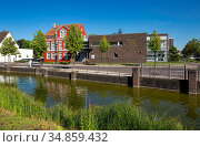 Dorsten, Lippe, Ruhrgebiet, Naturpark Hohe Mark Westmuensterland, ... Стоковое фото, фотограф Werner OTTO / age Fotostock / Фотобанк Лори