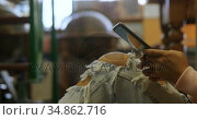 Teenage girl using digital tablet 4k. Стоковое видео, агентство Wavebreak Media / Фотобанк Лори