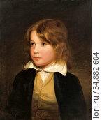 Amerling Friedrich Von - Joseph Amerling Als Knabe (the Artist's ... Редакционное фото, фотограф Artepics / age Fotostock / Фотобанк Лори