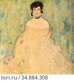 Klimt Gustave - Bildnis Frau Amalie Zuckerkandl - Austrian School... Редакционное фото, фотограф Artepics / age Fotostock / Фотобанк Лори