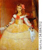 Matsch Franz Von - a Portrait of the Artist's Daughter as Infanta... (2020 год). Редакционное фото, фотограф Artepics / age Fotostock / Фотобанк Лори