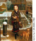 Reiter Johann Baptist - Back from Shopping (Lexi the Artist's Daughter... Редакционное фото, фотограф Artepics / age Fotostock / Фотобанк Лори