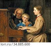 Anker Albert - Das Lied Der Heimat - Swiss School - 19th Century. (2020 год). Редакционное фото, фотограф Artepics / age Fotostock / Фотобанк Лори
