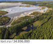 Zinkgruvan Mining is an underground mine in Zinkgruvan in Askersund... Стоковое фото, фотограф Andre Maslennikov / age Fotostock / Фотобанк Лори