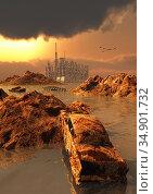 UIG-71096_RF_28_CLIMATE_CHANGE_199B1H. Стоковое фото, фотограф UNIVERSAL IMAGES GROUP / age Fotostock / Фотобанк Лори