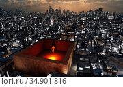 UIG-71096_RF_02_QUARANTINE_200A11H. Стоковое фото, фотограф UNIVERSAL IMAGES GROUP / age Fotostock / Фотобанк Лори