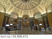 Foyer, Naturhistorisches Museum Wien, Österreich, Europa | Foyer, ... Стоковое фото, фотограф Peter Schickert / age Fotostock / Фотобанк Лори