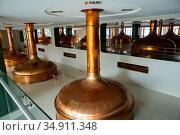 Pilsner Urquell brewery (2019 год). Редакционное фото, фотограф Яков Филимонов / Фотобанк Лори