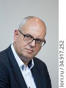 Germany, Bremen - Andreas Bovenschulte (SPD), Mayor of Bremen and President of the Bremen Senate. Редакционное фото, агентство Caro Photoagency / Фотобанк Лори