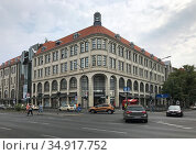 Berlin, Germany, Karstadt department store on Tempelhofer Damm. Редакционное фото, агентство Caro Photoagency / Фотобанк Лори