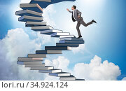 Career progression through investment in good education. Стоковое фото, фотограф Elnur / Фотобанк Лори