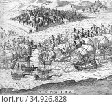 Cornelis Matelief de Jonge (c. 1569 – October 17, 1632) was a Dutch... (2019 год). Редакционное фото, фотограф Pictures From History / age Fotostock / Фотобанк Лори