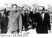 Hua Guofeng (16 February 1921 – 20 August 2008), was Mao Zedong's... (2016 год). Редакционное фото, фотограф Pictures From History / age Fotostock / Фотобанк Лори