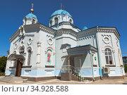 Церковь Илии Пророка в городе Саки, Крым. Стоковое фото, фотограф Николай Мухорин / Фотобанк Лори