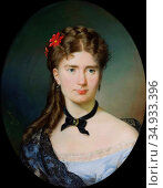 Dukszynska-Dukszta Emilia - Portrait of Julia Lesser-Blatteisowa - ... Редакционное фото, фотограф Artepics / age Fotostock / Фотобанк Лори
